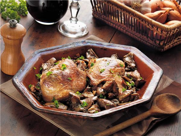 Duck Confits from the South-West with Ceps - 2 legs